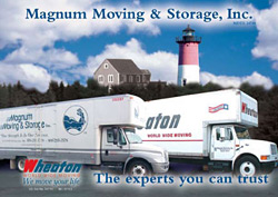 Magnum Moving and Wheaton Worldwide - two names you can trust!