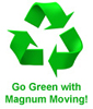 Go Green With Magnum Moving